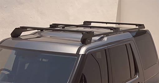 Composants pour barres de toit