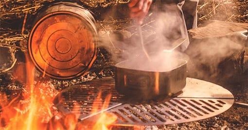 Cocina para campamento