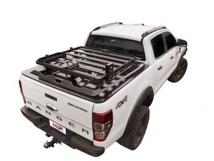 HSP Silverback Hard Lid Slimline II Load Bed Rack Kit / 1255(W) x 1156(L) - by Front Runner