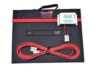 Mojave 150W / 20A LCD Regulator Solar Kit – by Flexopower