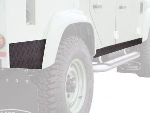 Front Runner Sill Protector - Black / Land Rover Defender 110