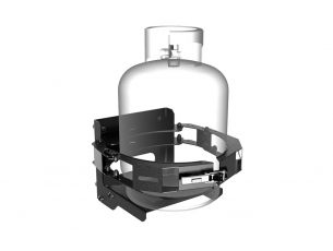 Gas/Propane Bottle Holder / Side Mount - by Front Runner