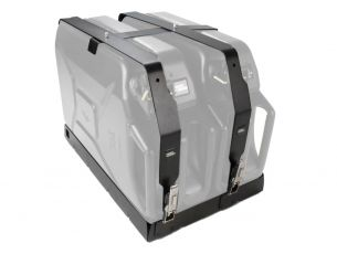 Double Jerry Can Holder - by Front Runner