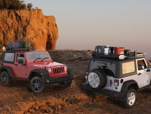 Jeep Wrangler JK Roof Rack (2 Door Full Cargo Rack)   - Front Runner Slimline II Extreme