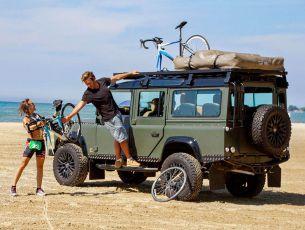 Land Rover Defender 110 Roof Rack (Full Cargo Rack) - Front Runner Slimline II