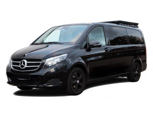 Mercedes Benz V-Class XLWB (2014-Current) Slimline II 1/2 Roof Rack Kit - by Front Runner