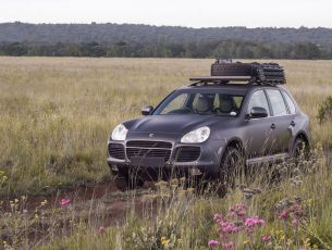Porsche Cayenne (2002-2010) Slimline II Roof Rail Rack Kit - by Front Runner