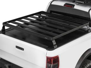 Pickup Roll Top Slimline II Load Bed Rack Kit / 1425(W) x 1156(L) - by Front Runner
