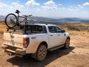 Ford Ranger Wildtrak (2014-2018) Roll Top Slimline II Load Bed Rack Kit - by Front Runner