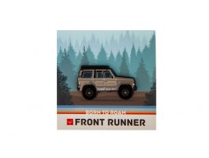 Special Edition Front Runner Pin / Toyota Land Cruiser FJ60