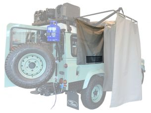 Shower Cubicle Curtain / Caddy - by Front Runner