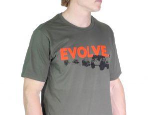 Evolve T-Shirt / Jeep JKU/Wrangler - by Front Runner