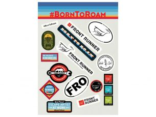 Born to Roam Sticker Set - von Front Runner