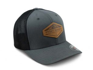 Find Anywhere Grey Cap / Suede Patch - by Front Runner
