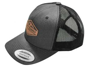 Born to Roam Cap grau / Wildleder Patch - von Front Runner