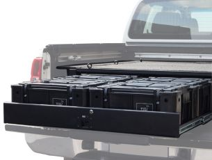 Nissan Navara DC Wolf Pack Drawer Kit - by Front Runner