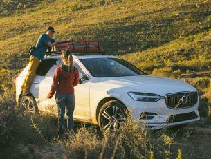 Volvo XC60 (2018-Curr) SLII Roof Rack Kit