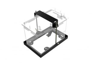 Toyota Hilux/Fortuner (2016-Current) Battery Bracket - by Front Runner