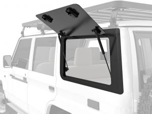 Front Runner Left Hand Side Gullwing Window - Aluminium / Toyota Land Cruiser 70