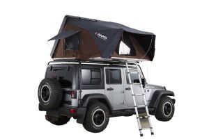 Skycamp 4X Hard Shell Roof Top Tent / Rocky Black - by iKamper