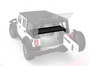 Jeep Wrangler JKU - 4 Door Cargo Storage Interior Rack - Front Runner Slimline II