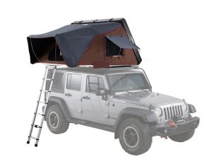 Skycamp 2.0 Hard Shell Roof Top Tent / White - by iKamper