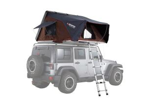 Skycamp 2.0 Hard Shell Roof Top Tent / Rocky Black - by iKamper