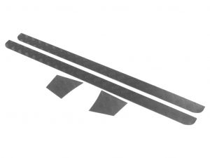 Land Rover Defender 90 (1983-2016) Sill Protector / Black - by Front Runner