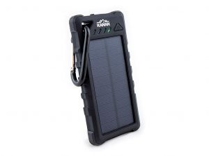 Weatherproof Solar Power Bank / Dual USB / 16 000 mAh - by Kanan Outdoors