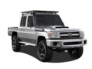 Toyota Land Cruiser DC Ute Slimline II Roof Rack Kit - by Front Runner