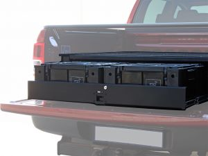 Ford Ranger T6 DC Wolf Pack Drawer Kit - by Front Runner