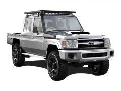 Toyota Land Cruiser Double Cab Pick-Up Roof Rack (Full Cargo Rack) - Front Runner Slimline II