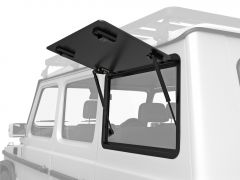 Front Runner Left Hand Side Gullwing Window - Aluminium / Mercedes Benz Gelandewagen