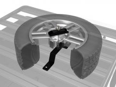 Front Runner New Spare Wheel Clamp - Low Profile
