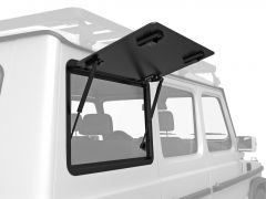Front Runner Right Hand Side Gullwing Window - Aluminium / Mercedes Benz Gelandewagen