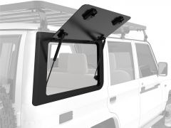Front Runner Right Hand Side Gullwing Window - Aluminium / Toyota Land Cruiser 70