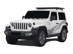 Jeep Wrangler JL 2 Door (2018-Current) Extreme 1/2 Roof Rack Kit - by Front Runner