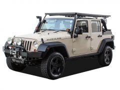 Jeep Wrangler JKU 4 Door (2007-Current) Slimline II Extreme Roof Rack Kit - by Front Runner
