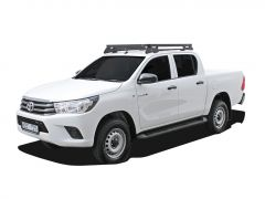 Toyota Hilux Revo DC (2016-Current) Slimline II Roof Rack Kit - by Front Runner