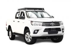 Hilux Revo DC (2016-Curr) SLII Roof Rack Kit/Low