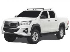 Toyota Hilux Revo DC (2016-Current) Load Bar Kit / Track & Feet - by Front Runner