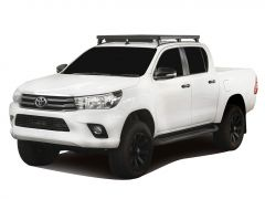 Toyota Hilux Revo DC (2016-Current) Track & Feet Slimline II Roof Rack Kit - By Front Runner