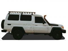 Toyota Land Cruiser 70 Roof Rack (3/4 Cargo Rack) - Front Runner Slimline II