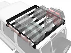Toyota Land Cruiser 70 Roof Rack (Half Cargo Rack) - Front Runner Slimline II