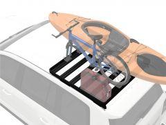 Lexus GX460 Roof Rack (Half Cargo Rack Foot Rail Mount) - Front Runner Slimline II