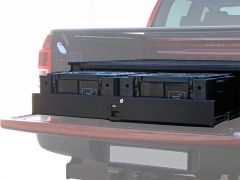 Ford Ranger T6 DC Wolf Pack Drawer Kit - by Front Runner