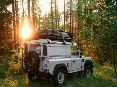 Land Rover Defender 90 Roof Rack (Full Cargo Rack) - Front Runner Slimline II