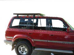 Toyota Land Cruiser 80 Roof Rack (Half Cargo Rack - Tall) - Front Runner Slimline II