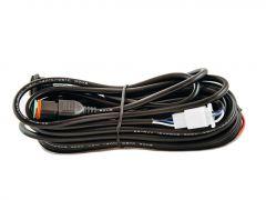 Arnés de cableado de un solo LED con enchufe DT