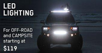LED Lighting: Off-Road & Campsite